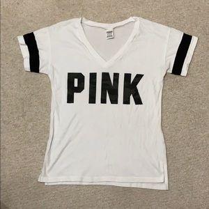 PINK Victoria's Secret V-neck tee